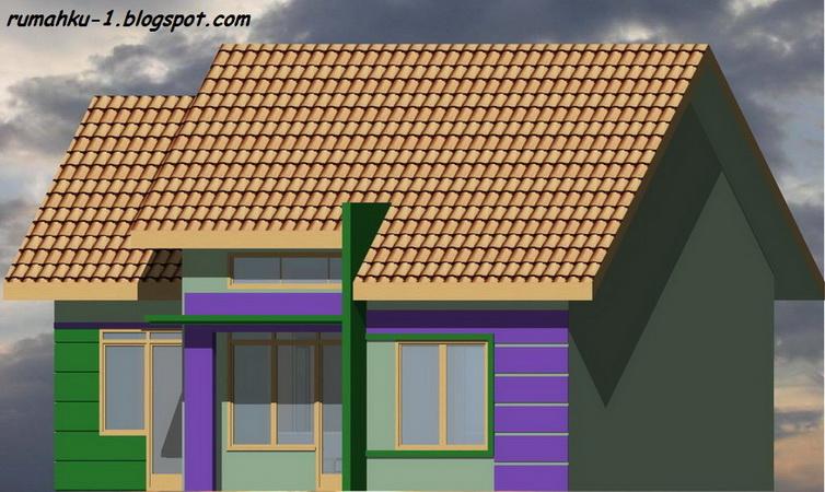 rumahku 1 contoh rumah minimalis rumah type 60 128