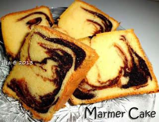 CARA MEMBUAT CAKE MARMER JADUL
