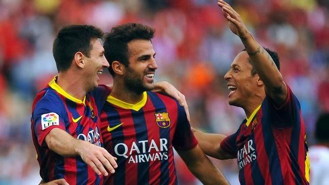 Vídeo Resumen: Almería 0 - Barça 2