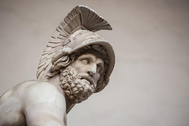 Menelao (del conjunto escultórico Patroclo y Menelao) :: Canon EOS5D MkIII | ISO800 | Canon 70-200@160mm | f/4.0 | 1/100s