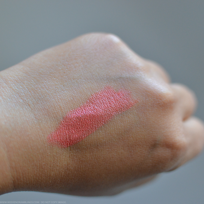 Smashbox Be Legendary Lipstick in Melondrama Swatch