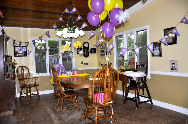 Rapunzel party ideas, Girls birthday party, Tangled birthday