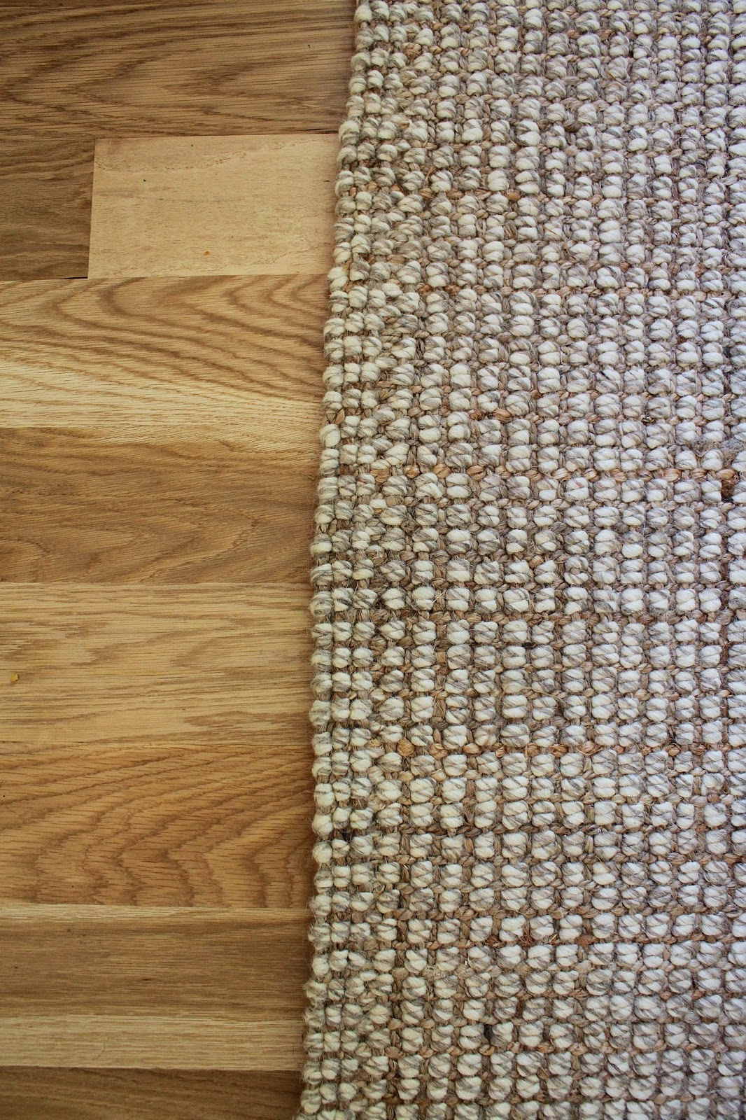 blonde+tall: Our New Area Rug