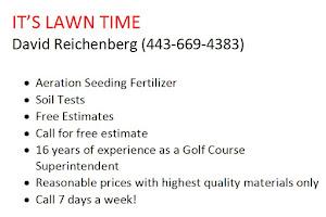 IT'S LAWN TIME 443-669-4383