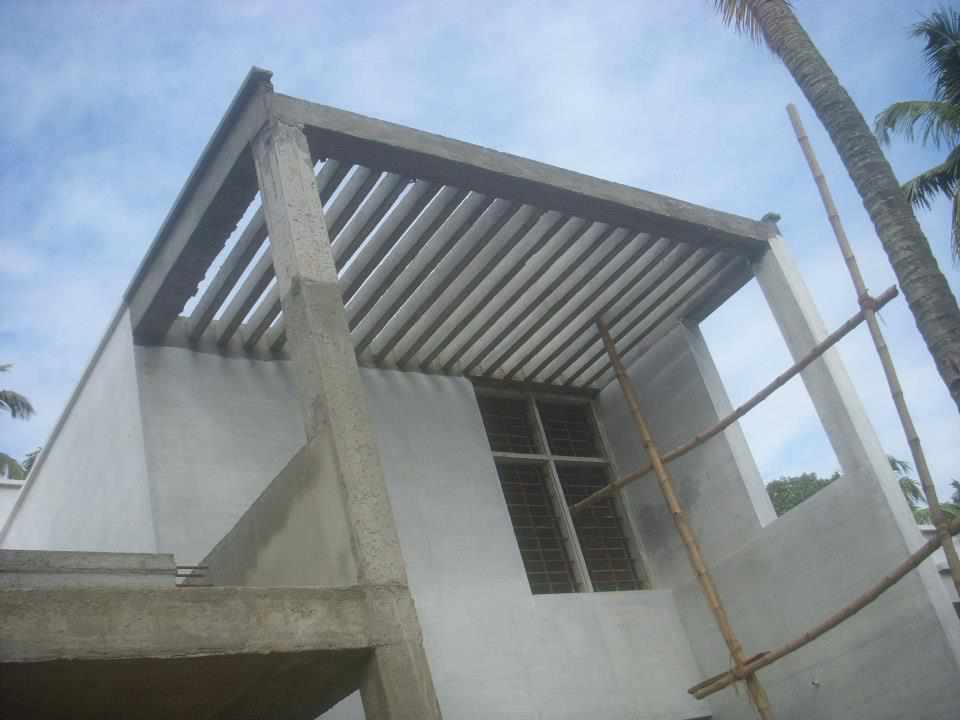 Pergola in kerala house design for House designer com