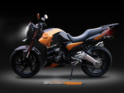 Modifikasi Suzuki Thunder 125