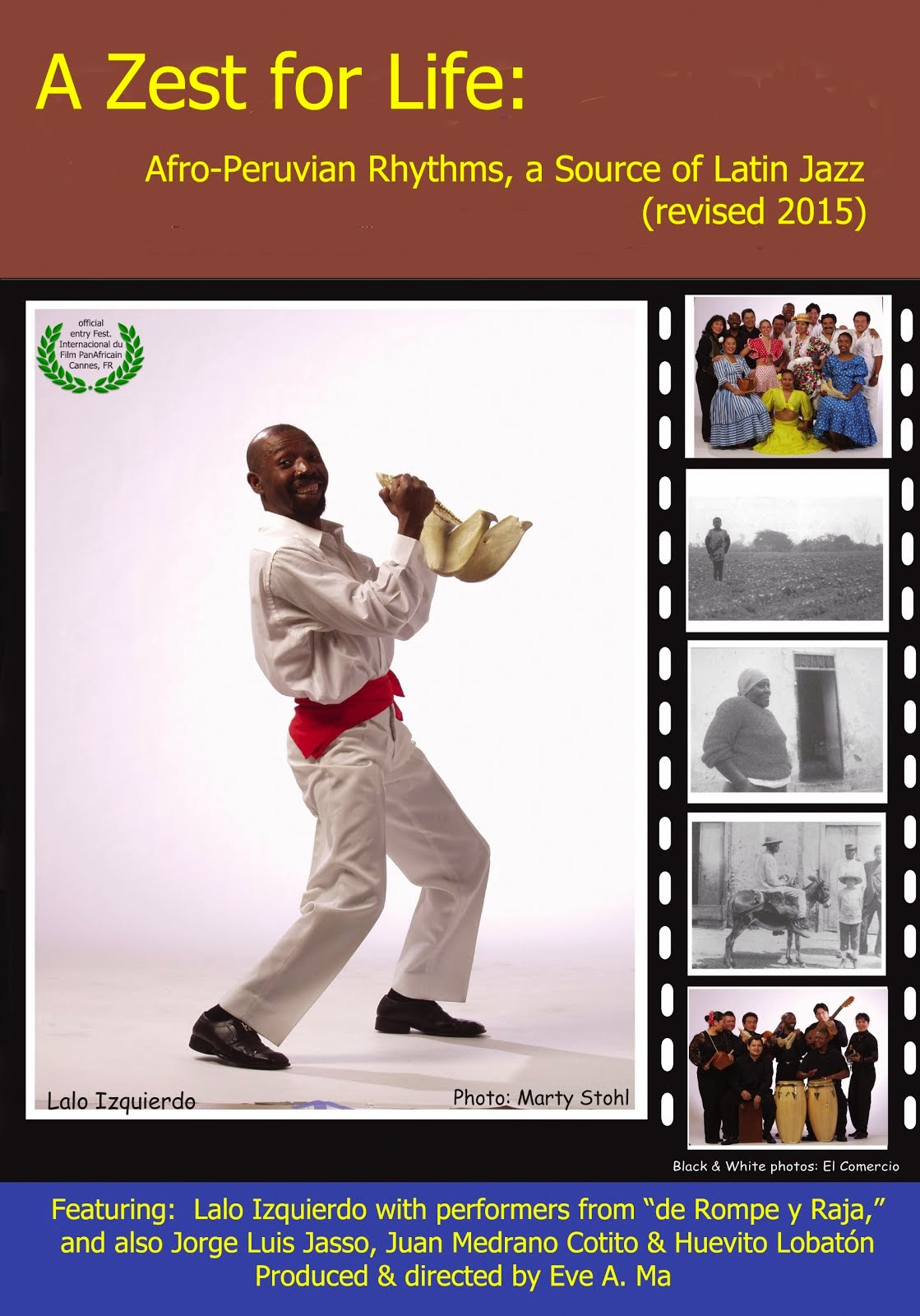 A Zest for Life DVD cover