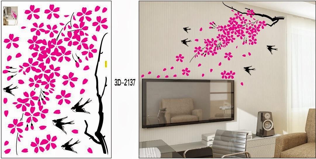 SHOP HERE : Falling flowers and Birds - Loft 520 Kids Nursery Home ...
