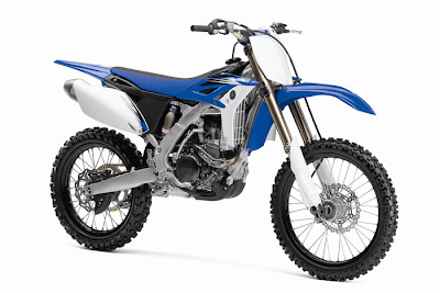 2012 Yamaha YZ250F Blue Color
