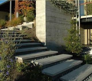 Fotos de escaleras escalera exterior for Escaleras exteriores para casas