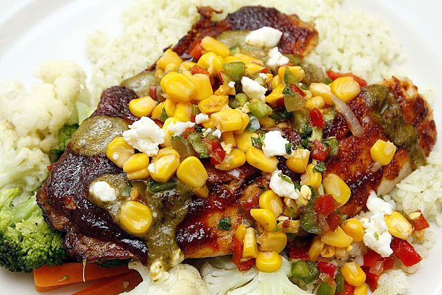 Chili's Ancho Rubbed Tilapia