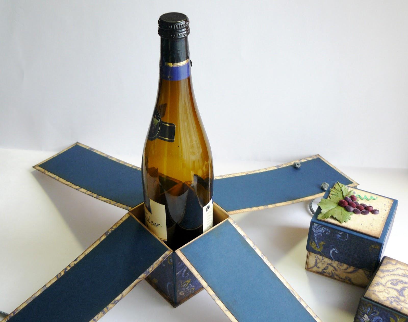 Коробка своими руками для шампанского