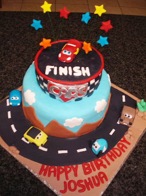 Cars Cake for Joshua