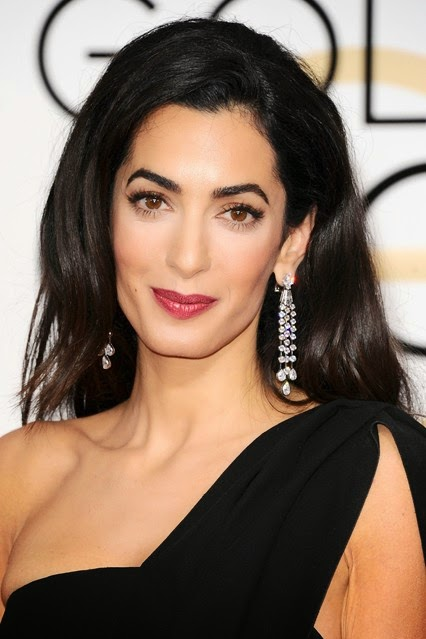 Amal Clooney Golden Globe Awards 2015