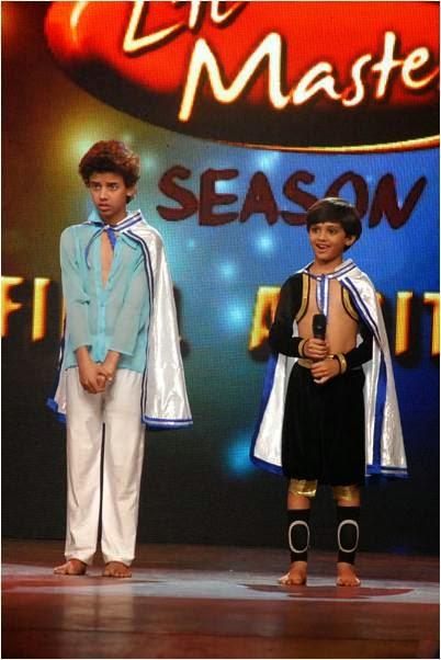Deepak and Venkatesh in final audition of DID Li'l Masters Season 3