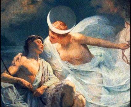 Η Σελήνη στην Ελληνική Μυθολογία
