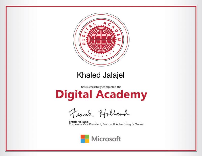 Microsoft Digital Certification