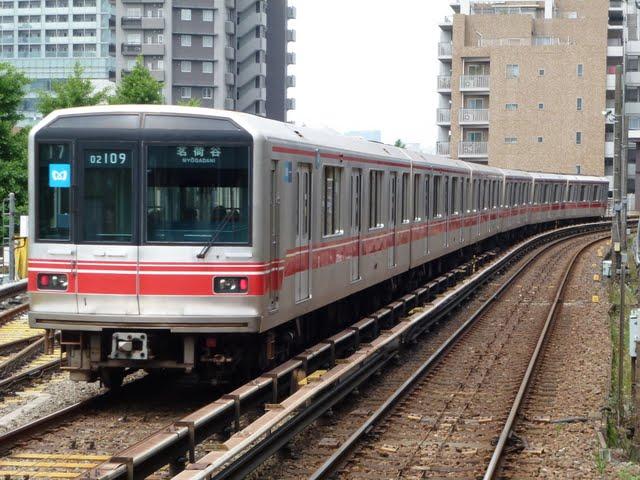 東京メトロ丸ノ内線 茗荷谷行き1 02系幕式(平日7本運行)