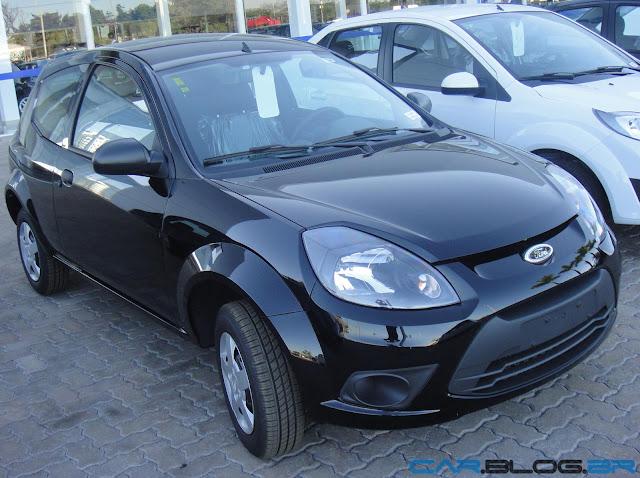 Ford Ka 2013 - Preto Ebony