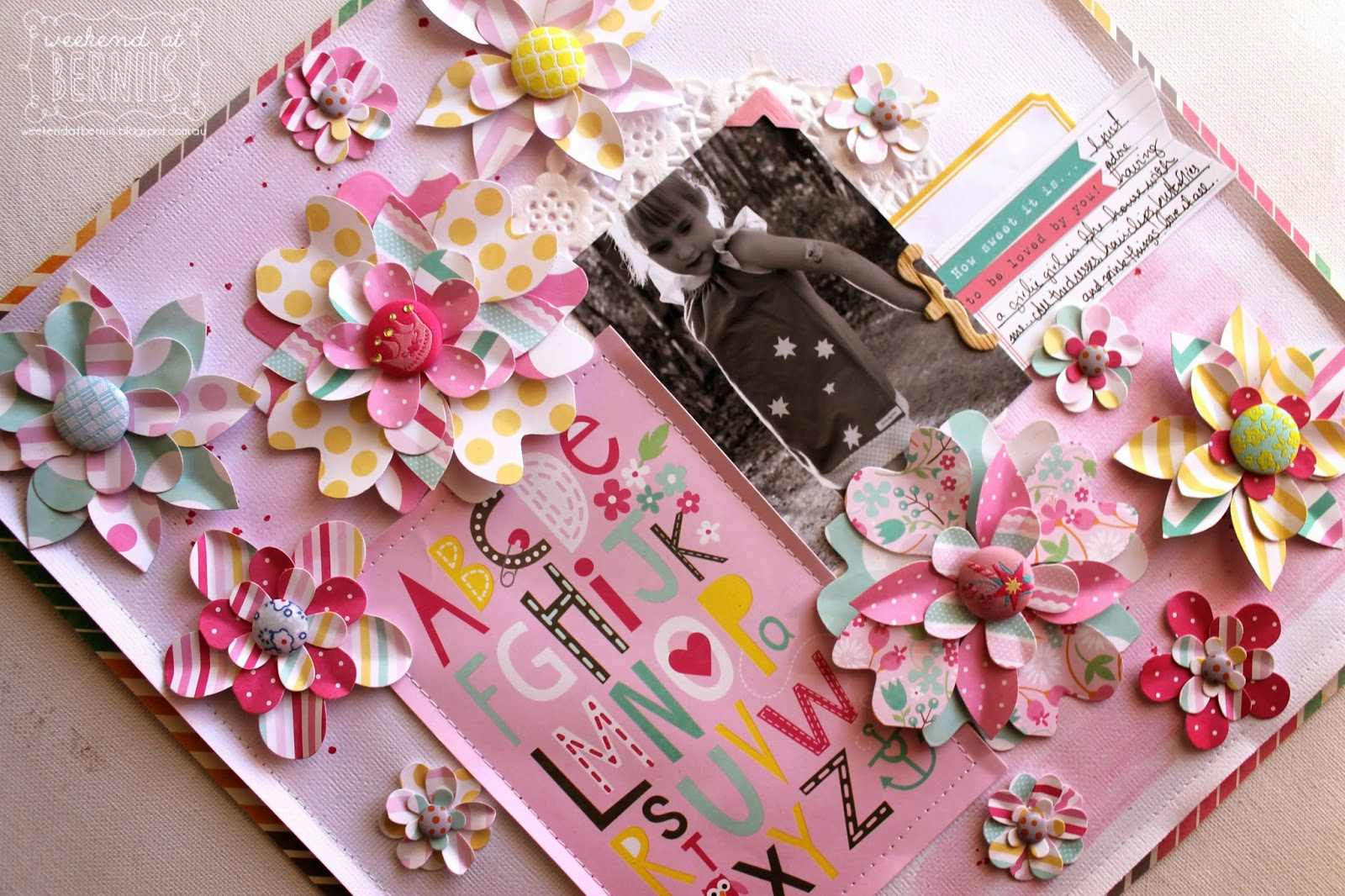 ABC layout by Bernii Miller using MAMBI Pocket Life pages.