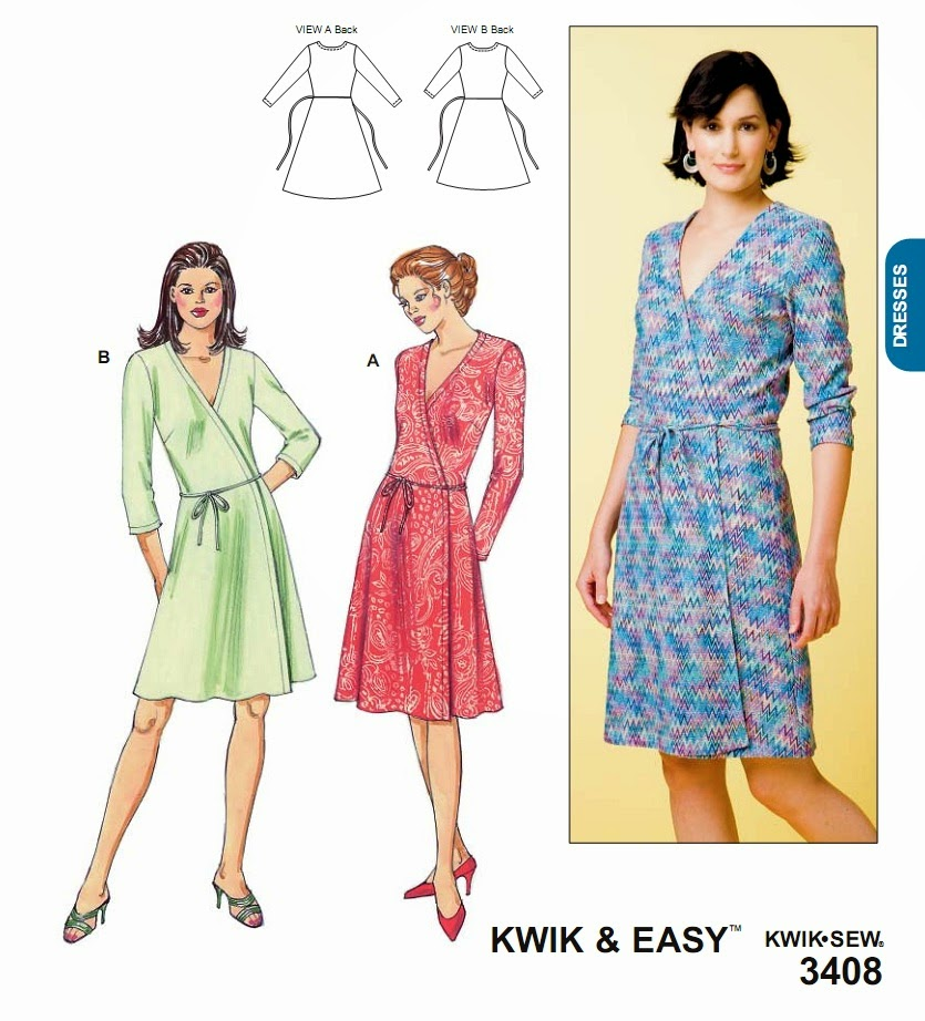 Dvf Wrap Dress Sewing Pattern It is a simple wrap dress