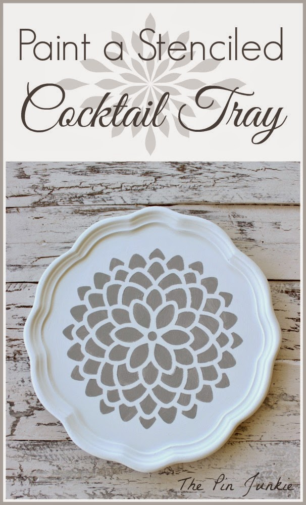 painted cocktail-tray