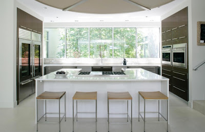 Cozinha com bancada