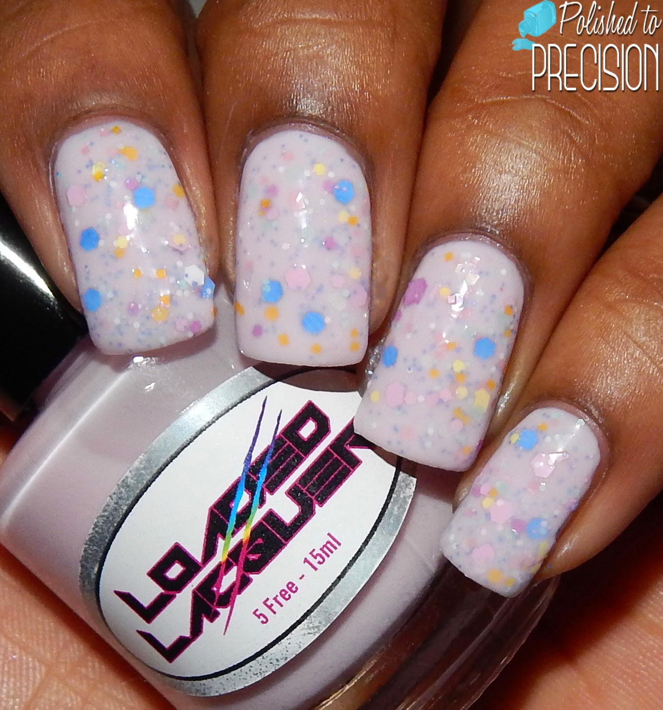 Loaded Lacquer No Bra and Fluffly Macaroons Jelly Sammich
