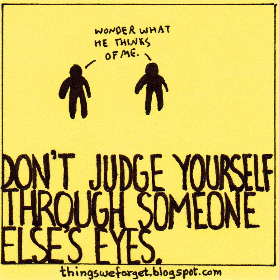 through someone elses eyes