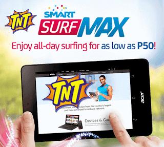 Talk N Text SurfMax Promo