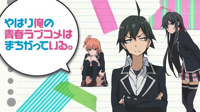 Yahari Ore no Seishun Love Come wa Machigatteiru [13/13][100MB][Anime][Jap]