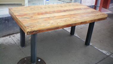#3-3 Harvest Table - Metal Harvest Table