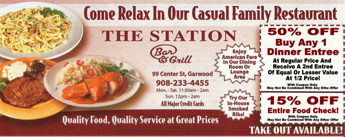Garwood 365 the original community news and neighborhood blog for print coupon for the station bar and grill solutioingenieria Gallery