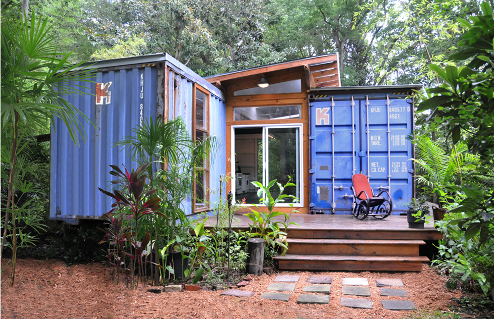 2 Shipping Container Home, - Savannah Project, Price Street Projects, -  Florida,
