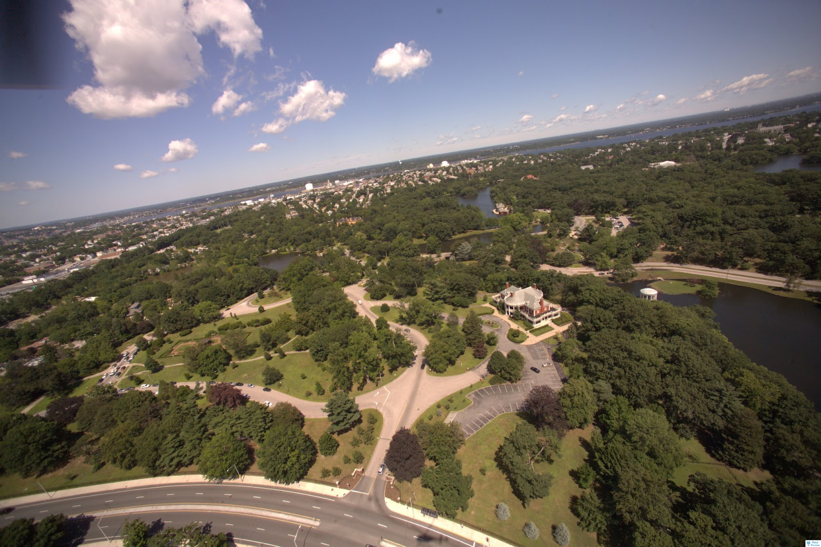 Roger Williams Park Ponds Restoration Project: Aerial Photography of RWP
