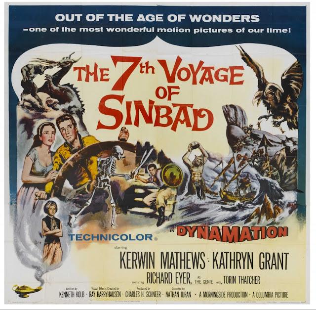El séptimo viaje de Simbad / Simbad y la princesa / The 7th Voyage of Sinbad (película)