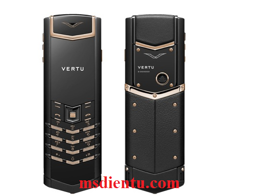 VERTU signatures S Pure Black Mix Metal fake 1 trung quoc