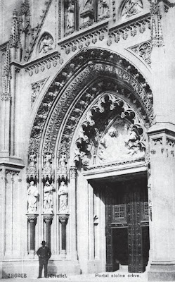 Zagrebačka katedrala - ulazni portal