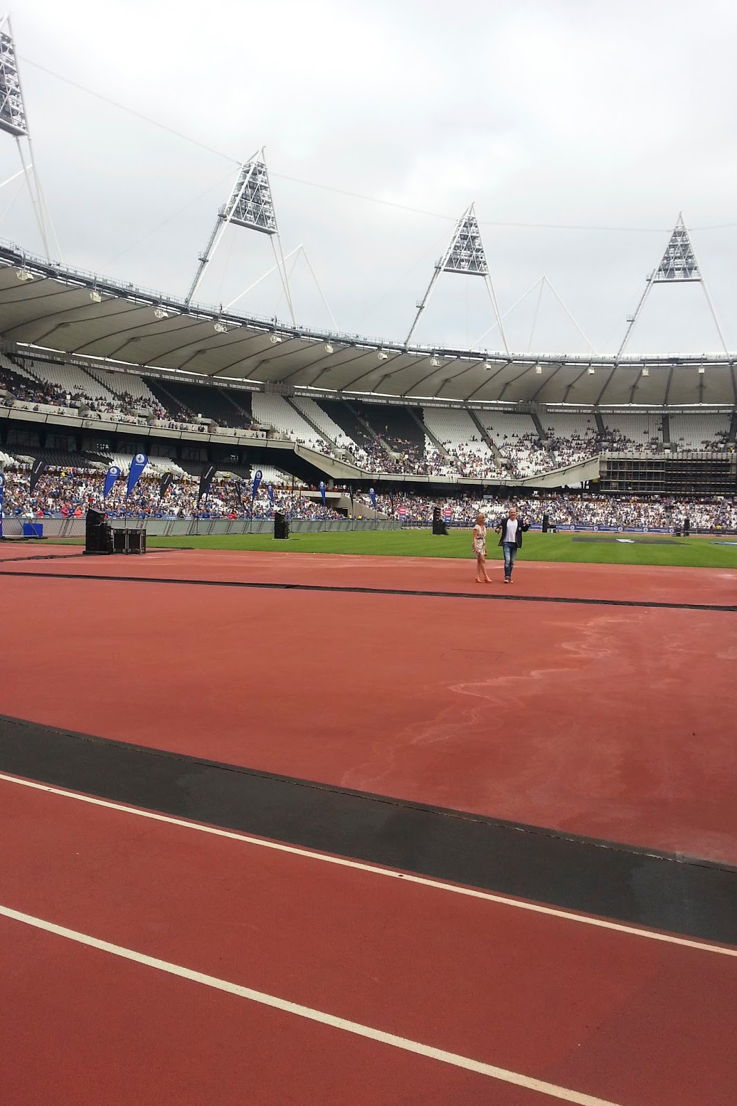 Couch to 5k National Lottery Anniversary Run Olympic Park Stadium