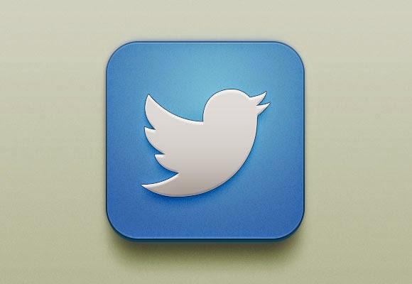 Free Twitter iOS Icon
