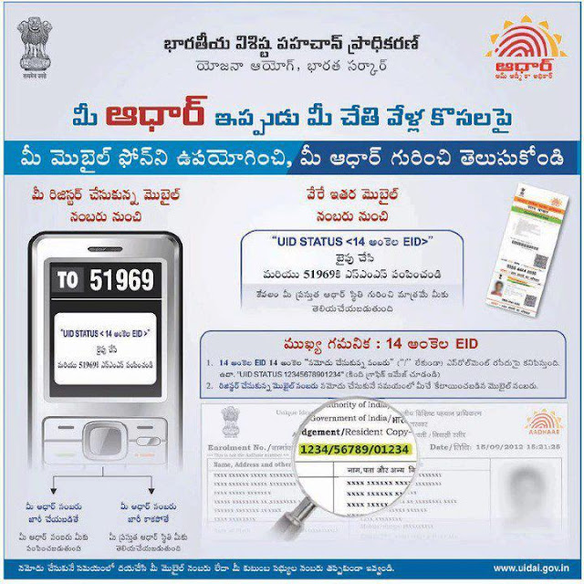 Aadhaar Card Status on your mobile