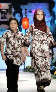 Busana Batik Muslim Untuk Lebaran