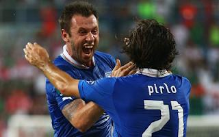أهداف مباراة ايطاليا وايرلندا 2-0 في بطولة اليورو 18-6-2012