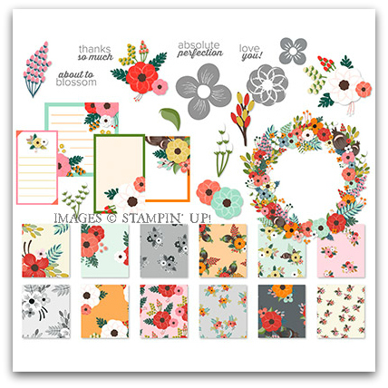 About To Blossom Digital Kit by Stampin' Up!