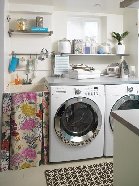 The long and short of it laundry room ideas for small spaces - Laundry rooms for small spaces decoration ...