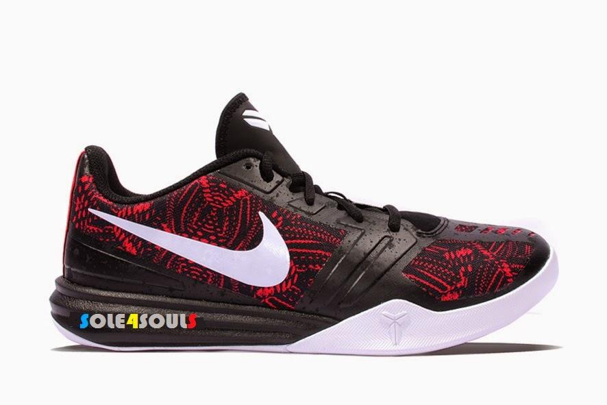 watch 9803c 470e4 Nike KB Mentality Bright Crimson Black