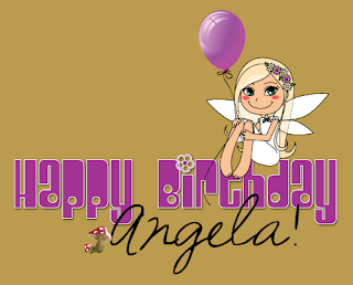 HappyBdayAngela Happy Birthday to Angela at Reading Angel!!