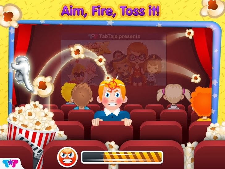 Pop The Corn! - Popcorn Maker Crazy Chef Adventure App iTunes App By Kids Fun Club by TabTale - FreeApps.ws