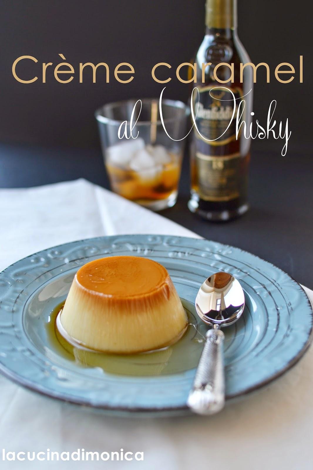 crème caramel al whisky