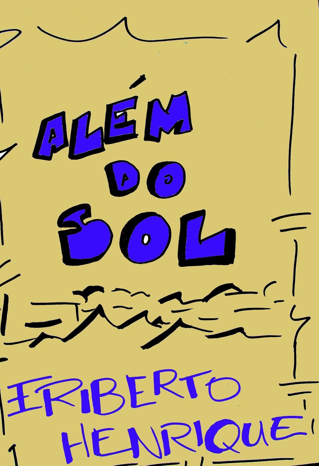 CAPA DO LIVRO ALÉM DO SOL